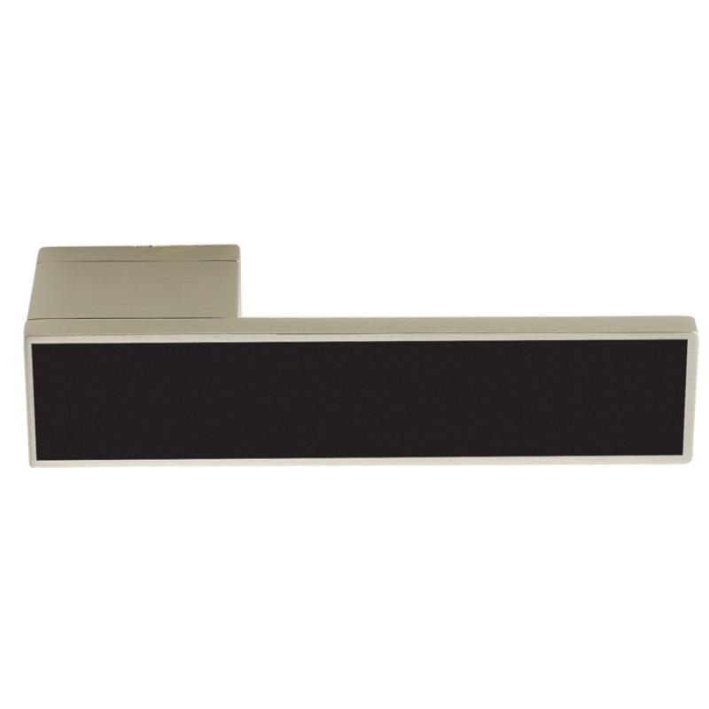 Дверні ручки Ilavio 2366 хром матовий/чорний