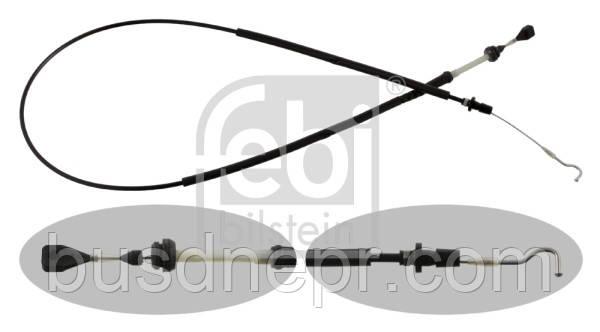 Трос газа (dl. 1658mm/1366mm) VW TRANSPORTER IV 2.4D 07.90-04.03 701 721 555AAOE VW