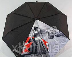 Яркий женский зонтик полуавтомат