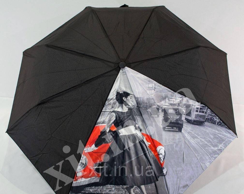 Яскравий жіночий напівавтомат парасолька