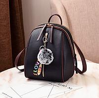 Рюкзак женский Kaila Sminica с помпоном, фото 1