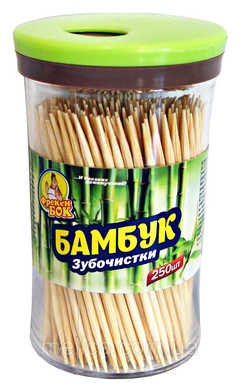 Зубочистки Фрекен Бок Бамбук - 250 шт.