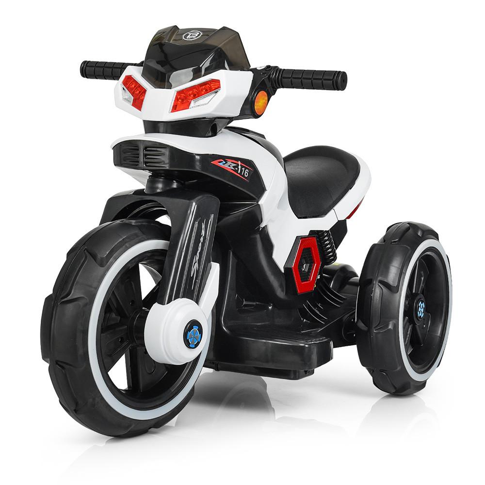Электромобиль Мотоцикл M 3927-1 белый BAMBI