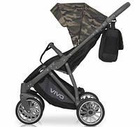 Детская универсальная прогулочная коляска Riko Vivo Military 03