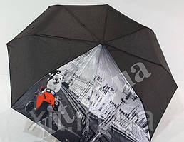 Красивый женский зонтик полуавтомат
