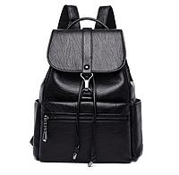 Рюкзак женский кожзам Kaila Kety Черный, фото 1
