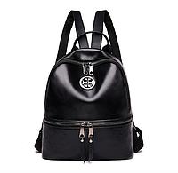 Рюкзак женский кожзам Kaila Nicole черный, фото 1