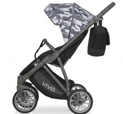 Дитяча універсальна прогулянкова коляска Expander Vivo Military 02