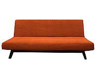Универсальный Натяжной Чехол На Раскладной Диван Без Подлокотников (Клик-Кляк) Испания цвет Оранжевый