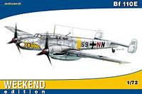 Сборная модель самолета Bf 110E 1/72