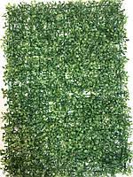 Искусственный коврик самшит (40*60) . Трава для декора.