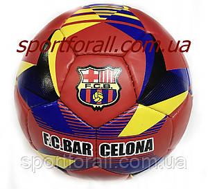Мяч футбольный №5 Гриппи 5сл. BARCELONA  (№5, 5 сл., сшит вручную) FB-0683
