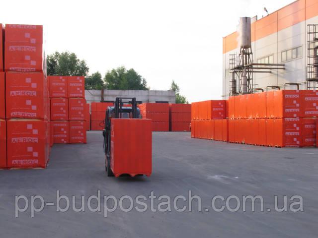 Газоблок ― газобетон AEROC EcoTerm-375  D 400 B2  50шт/1,8/под цена с доставкой, по УКРАИНЕ
