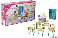 """Мебель """"Gloria"""" 9816(36шт/3)для школы, стол учителя, парты, стулья,аксес, в кор. 31*18*6 см"""