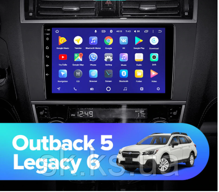 Junsun 4G Android магнитола для Subaru Outback 5 2014-2018 Legacy 6 2014-2017