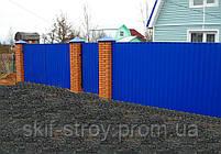 Профнастил стеновой ПС8,  ПС10,  ПС15, ПС20 0,45мм Украина, фото 3