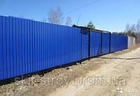 Профнастил стеновой ПС8,  ПС10,  ПС15, ПС20 0,45мм Украина, фото 4