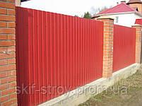 Профнастил стеновой ПС8,  ПС10,  ПС15, ПС20 0,45мм Украина, фото 5