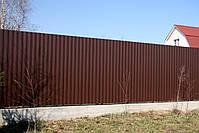 Профнастил стеновой ПС8,  ПС10,  ПС15, ПС20 0,45мм Украина, фото 7
