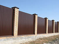 Профнастил стеновой ПС8,  ПС10,  ПС15, ПС20 0,45мм Украина, фото 8