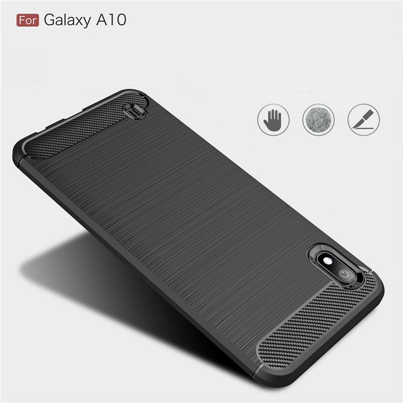 Противоударный чехол для Samsung Galaxy A10 Slim Shell