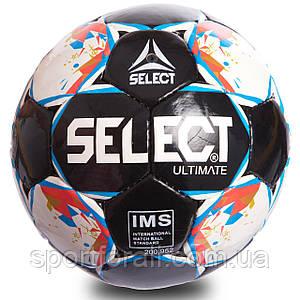 Мяч футбольный №5 PU ламин. SELECT  (№5, 5 сл., сшит вручную) FB-0907