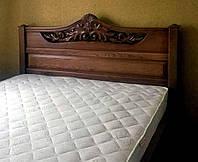 Кровать двуспальная деревянная 160х200 «Джесси» с ящиками, с подъемным механизмом белая из дерева