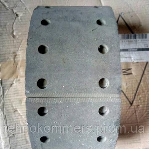 Колодка тормозная передняя с накладками FAW 3252, фото 3