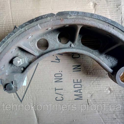 Колодка тормозная передняя с накладками FAW 3252, фото 2