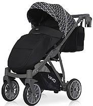 Дитяча універсальна прогулянкова коляска Riko Vivo 01 Carbon