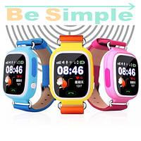 Smart Baby Watch Q100 c GPS трекером / Детские умные часы