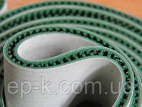 Лента конвейерная с покрытием ПВХ (PVC) 1200 х 2,0 мм, цвет зеленый, конечная, бесконечная, фото 3