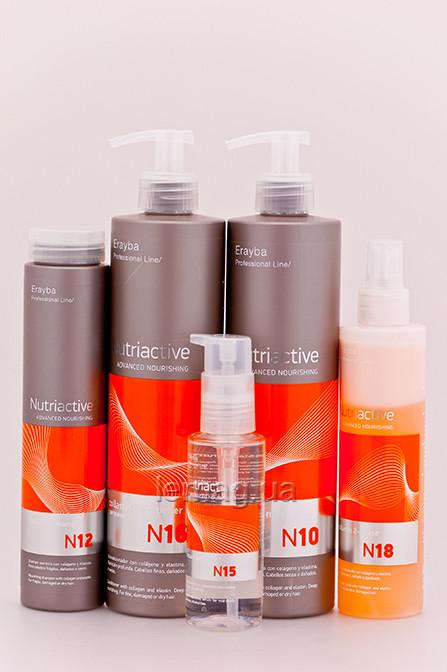 Erayba Nutriactive Collastin Набор для питания и увлажнения волос с коллагеном и эластином №9