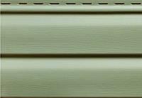 Сайдинг виниловый Ю-пласт, панель 3,05*0,23. Зеленый. Корабельный брус