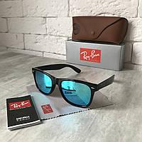 Солнцезащитные очки RAY BAN Wayfarer 2140 голубой Polarized