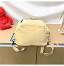 Рюкзак набор женский 3 в 1 ( клатч, пенал) жёлтый. (AV237), фото 7