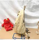 Рюкзак набор женский 3 в 1 ( клатч, пенал) жёлтый. (AV237), фото 5