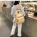 Рюкзак набор женский 3 в 1 ( клатч, пенал) жёлтый. (AV237), фото 10