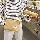 Рюкзак набор женский 3 в 1 ( клатч, пенал) жёлтый. (AV237), фото 4