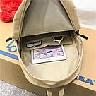 Рюкзак набор женский 3 в 1 ( клатч, пенал) жёлтый. (AV237), фото 3
