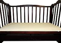 Матрас в кроватку зима/лето (ткань хлопок) 60х120х7 см., кремовый