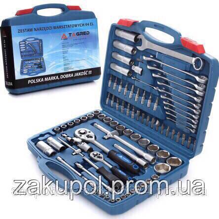 Набор головок ключей инструментов 94 шт Torx Tagred Польша рожково-накидные ключи
