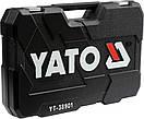 Набор головок ключей инструментов 122 шт Yato YT-38901 Польша, фото 6