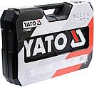Набор головок ключей инструментов 122 шт Yato YT-38901 Польша, фото 7