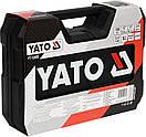 Набор головок ключей инструментов 100 предметов  Yato YT-12685 + Шуруповерт 3.6 В Польша, фото 7