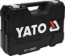 Набор головок ключей инструментов 100 предметов  Yato YT-12685 + Шуруповерт 3.6 В Польша, фото 8