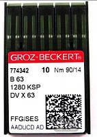 B63/1280KSP/DVX63 90 SES иглы для промышленных швейных машин цепного стежка