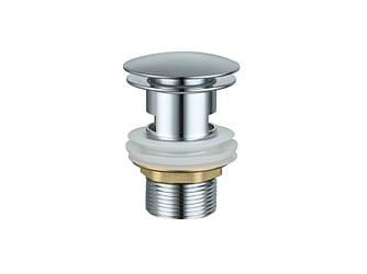 Донный клапан с переливом ASIGNATURA (45511900) хром