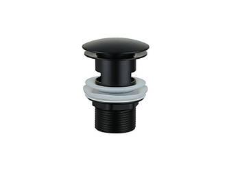 Донный клапан с переливом ASIGNATURA (45511902) черный