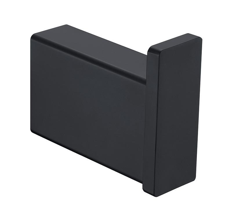 Крючок одинарный Unique 85603802 ASIGNATURA, Крючок для полотенец черный